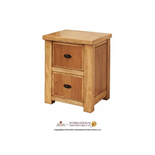 Home Office Hutch for Small Desk w/2 drawers, 2 doors