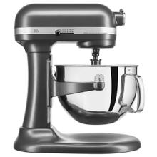 Professional 600 Series 6 Quart Bowl-Lift Stand Mixer - Dark Pewter