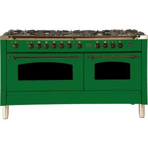 60 Inch Emerald Green Dual Fuel Liquid Propane Freestanding Range