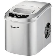 27-Pound-Capacity Portable Ice Maker (Silver with Silver Top)