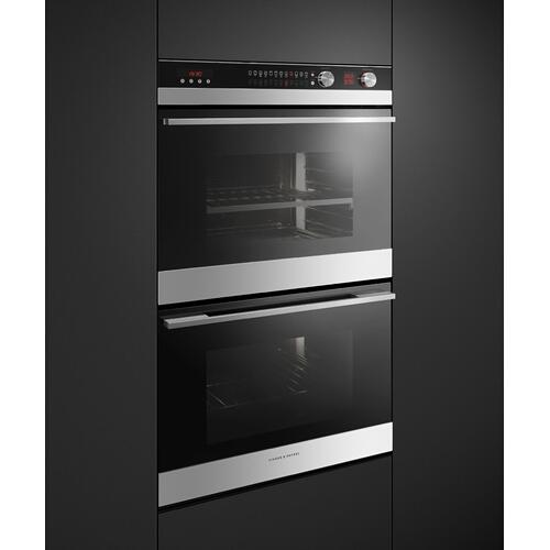 """Fisher & Paykel - Double Oven, 30"""", 11 Function, Self-cleaning"""