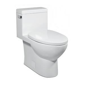 White VISTA II One-Piece Toilet Product Image