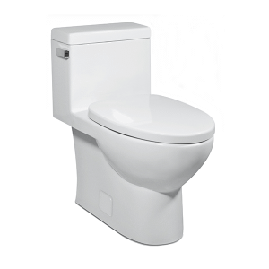White VISTA II One-Piece Toilet Product Image