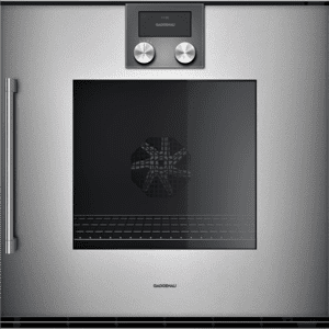 Gaggenau200 Series Oven 24'' Door Hinge: Right, Door Hinge: Right, Gaggenau Metallic