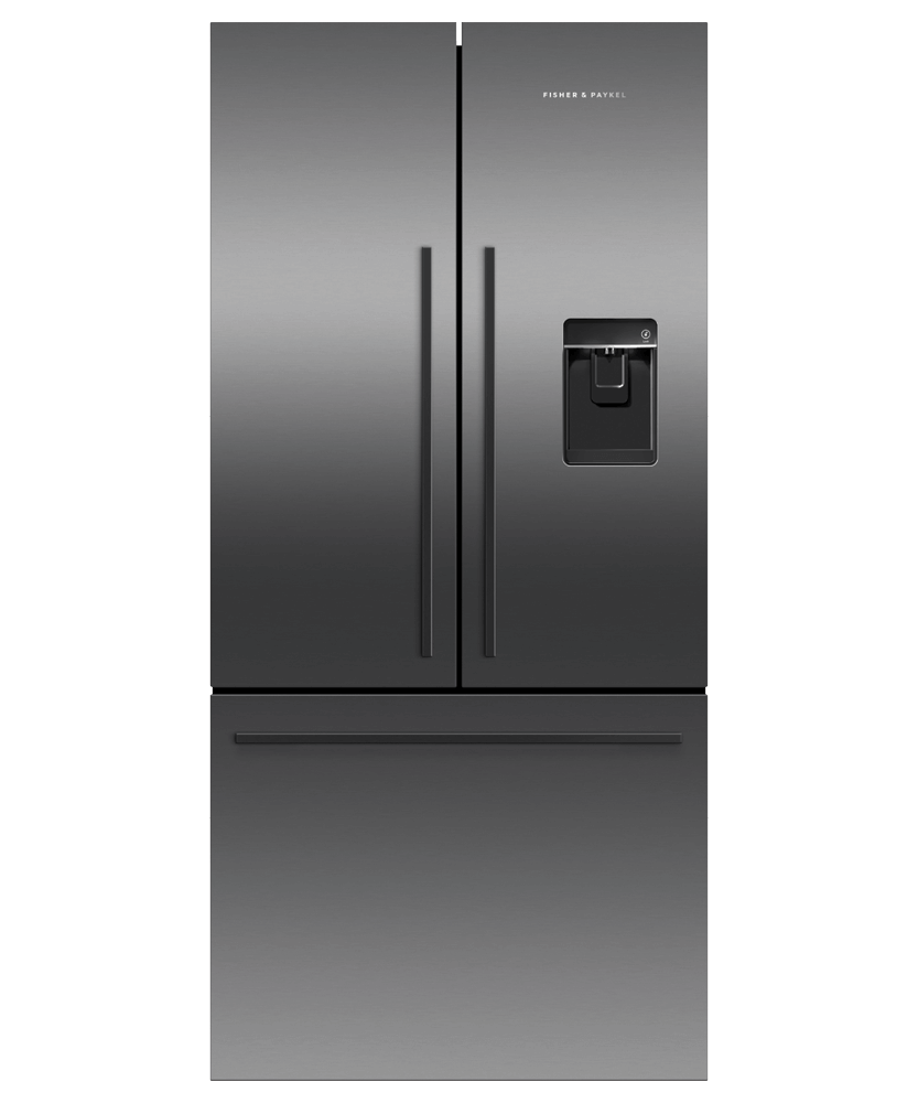 "Fisher & PaykelFreestanding French Door Refrigerator, 31"", 17.5 Cu Ft, Ice & Water"