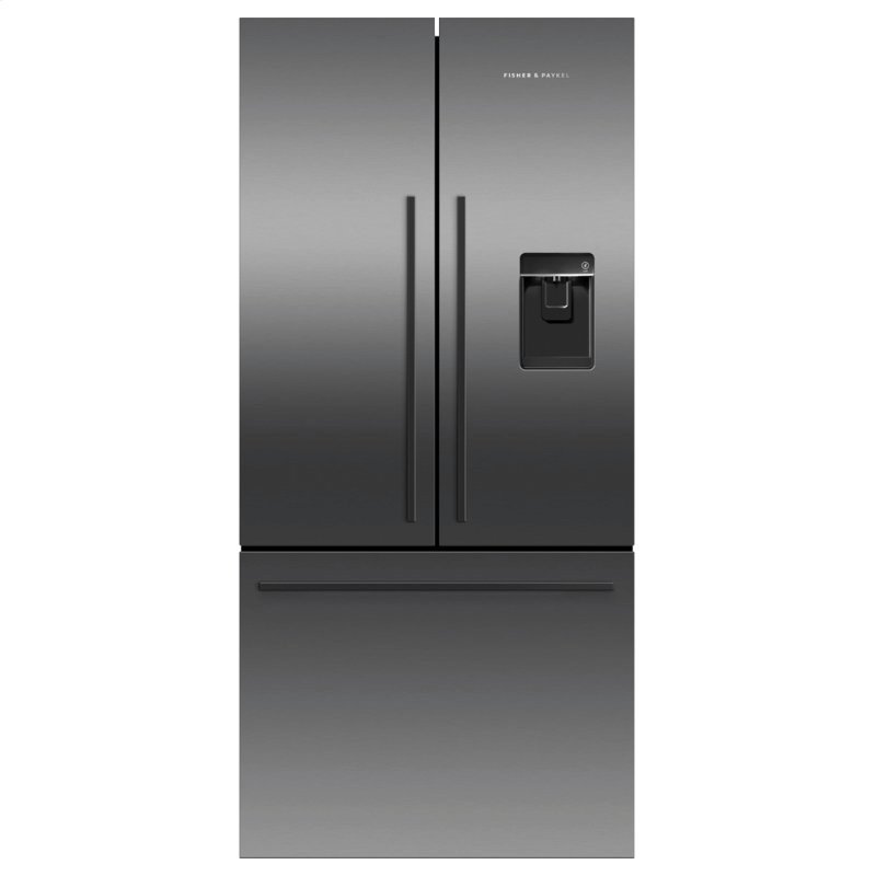 "Freestanding French Door Refrigerator, 31"", 17.5 cu ft, Ice & Water"