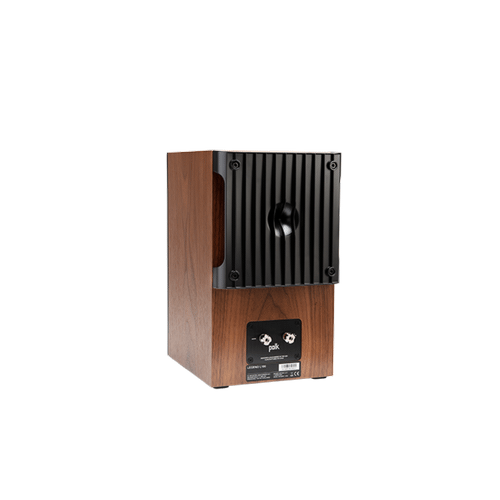 Legend Series Premium Bookshelf Speakers in Brown Walnut
