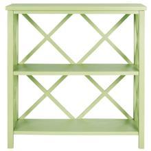 Liam Open Bookcase - Avocado Green