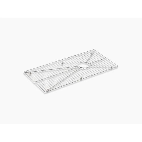"""Stainless Steel Stainless Steel Sink Rack, 30-31/32"""" X 15-1/16"""" for Stages 45"""" Kitchen Sink"""