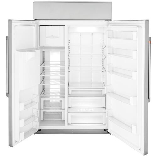 "Café 48"" Smart Built-In Side-by-Side Refrigerator with Dispenser"