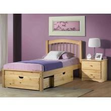 See Details - Regular Under Bed Chest One At Foot One On Side