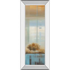 """""""Window On The Word Il"""" By Carol Robinson Mirror Framed Print Wall Art"""