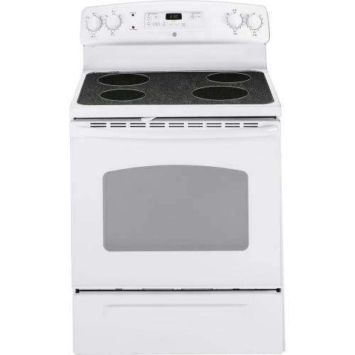 "GE® 30"" Free-Standing CleanDesign Electric Range"