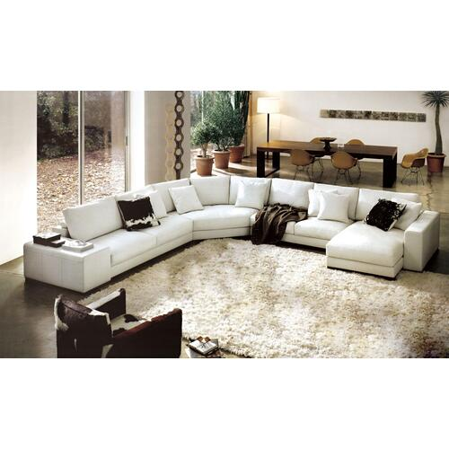 Divani Casa 2617 - Modern Bonded Leather Sectional Sofa