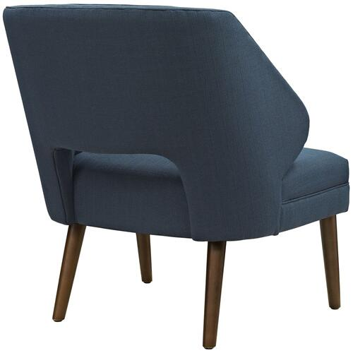 Modway - Dock Upholstered Fabric Armchair in Azure