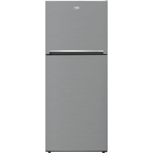 "28"" Freezer Top Stainless Steel Refrigerator with Auto Ice Maker"