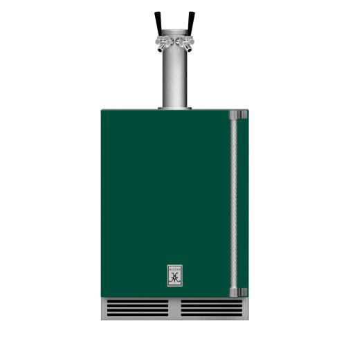 """24"""" Hestan Outdoor Double Faucet Beer Dispenser - GFDS Series - Grove"""