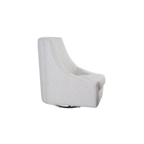 Swivel Glider, Fully Upholstered.