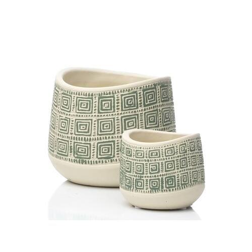 Alfresco Home - Baba Petits Pots - Set of 2