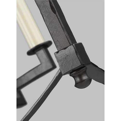 Thayer Extra Large Lantern Polished Nickel