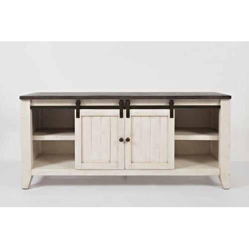 """Jofran - Madison County 60"""" Console - Vintage White"""