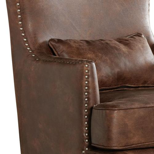 Kori Chair with Chrome Nails In Sierra Toffee