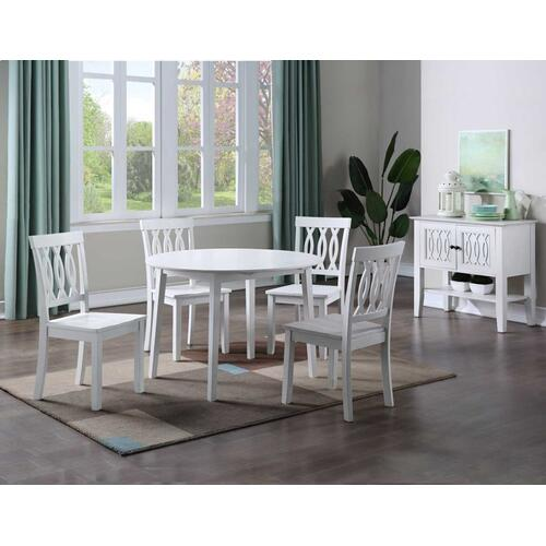 Naples 5-Piece Drop-Leaf Dining (Table & 4 Side Chairs)
