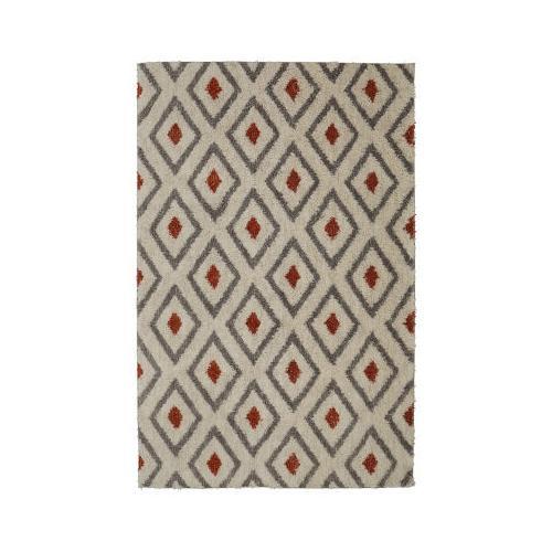 Mohawk - Tribal Diamond, Coral- Rectangle