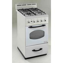 "Model G2002CW - 20"" Gas Range"