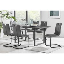 Product Image - Fenton and Gray Pacific 7 Piece Modern Rectangular Dining Set