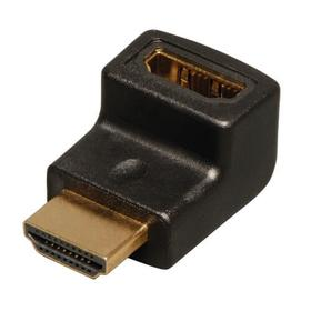 HDMI Right Angle Up Adapter/Coupler (M/F), 4K @ 60Hz