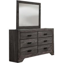 View Product - Nathan Driftwood Dresser with Mirror