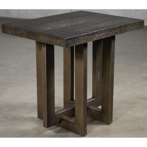 Magnus - Side Table - Umber Finish