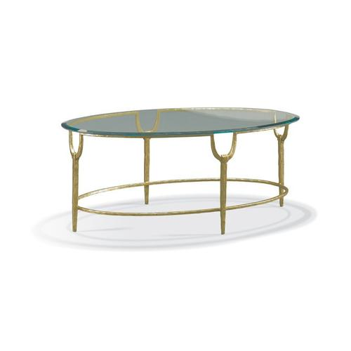 CTH Sherrill Occasional - Oval Cocktail Table