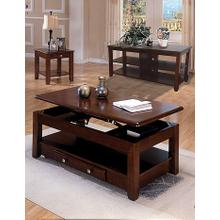 Espresso Coffee & End Table Set