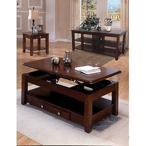 Espresso Coffee & End Table Set