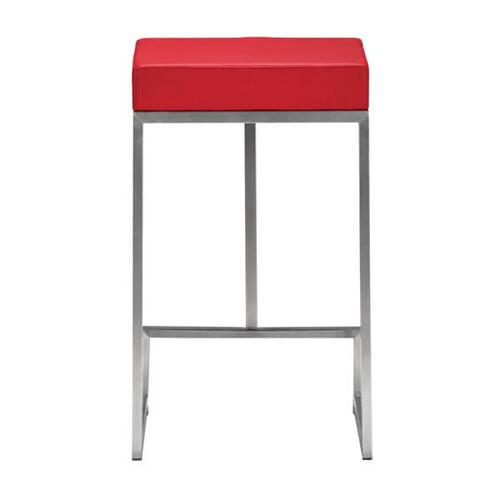 Darwen Counter Stool Red