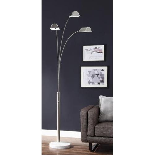 """85""""h 3 Arm Arc Floor Lamp"""