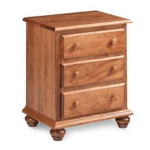 """See Details - Georgia Nightstand with Drawers, Standard - 23""""w x 15 """"d x 28""""h"""
