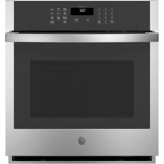 """GE 27"""" Built-In Single Wall Oven Stainless Steel - JKS3000SNSS"""