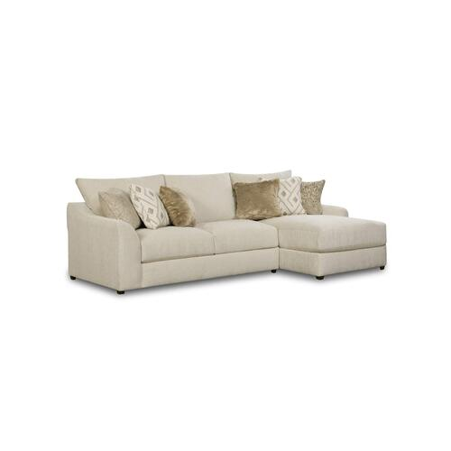 9915 Vivian Two Piece Sectional with Chaise
