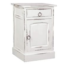 See Details - Cottage Nightstand - Whitewashed