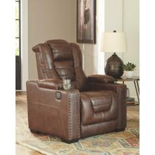 Owner's Box Power Recliner