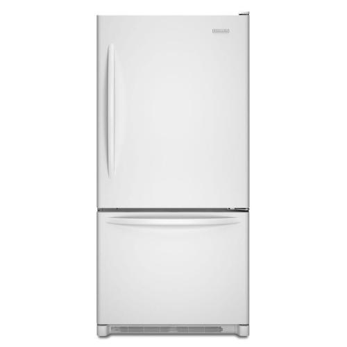 Bottom Mount Refrigerator - White