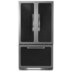 HeartlandBlack Classic French Door Refrigerator