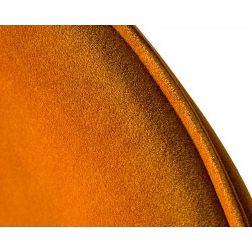 Modrest Exodus - Modern Yellow Velvet Counter Stool