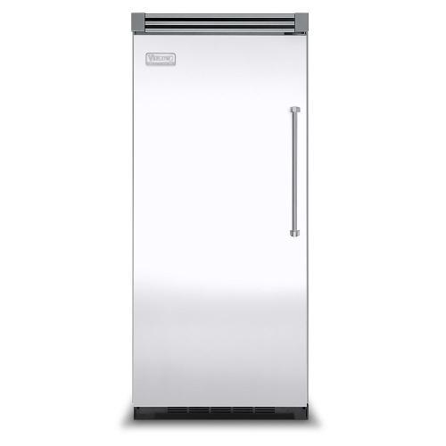 "Viking - White 36"" Quiet Cool™ All Refrigerator - VIRB Tru-Flush™ (Left Hinge Door)"