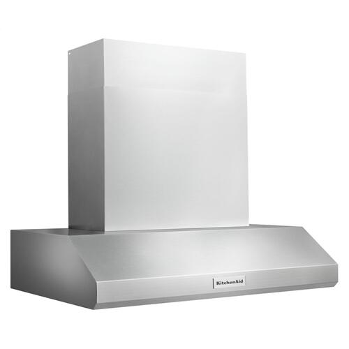 "36"" Commercial-Style Wall-Mount Canopy Range Hood - Stainless Steel"