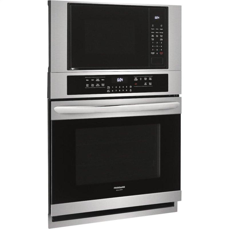 Gallery 30'' Electric Wall Oven/Microwave Combination
