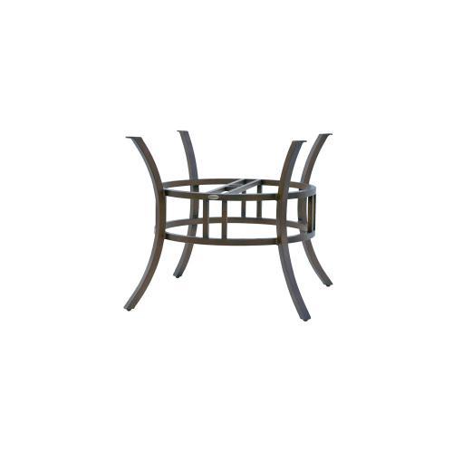"Hamilton Dining Table Base w/Umbrella Hole (54"" Round Top)"